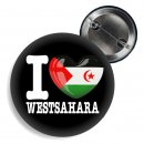 Button - I LOVE WESTSAHARA -