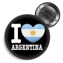 Button - I LOVE ARGENTINA -