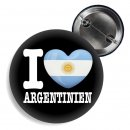 Button - I LOVE ARGENTINIEN -