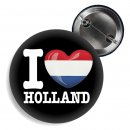 Button - I LOVE HOLLAND -