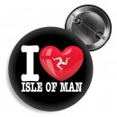 Button - I LOVE ISLE OF MAN -