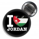 Button - I LOVE JORDAN -