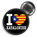 Button - I LOVE KATALONIEN -