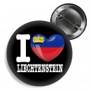 Button - I LOVE LIECHTENSTEIN -