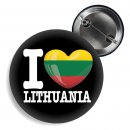 Button - I LOVE LITHUANIA -