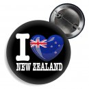 Button - I LOVE NEW ZEALAND -