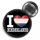 Button - I LOVE NIEDERLANDE -