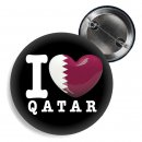 Button - I LOVE QATAR -