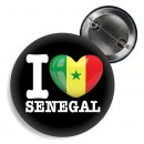 Button - I LOVE SENEGAL -