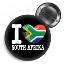Button - I LOVE SOUTH AFRICA -