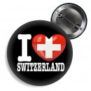 Button - I LOVE SWITZERLAND -