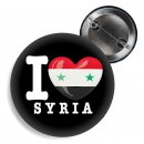 Button - I LOVE SYRIA -