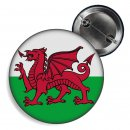 Button - WALES - Fahne