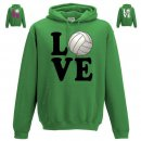 Hoodie Love Volleyball