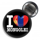 Button - I LOVE MONGOLEI -