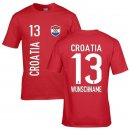 Herren Fan-Shirt - CROATIA -
