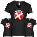 Damen T-Shirt - BALL DÄNEMARK -