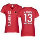 Damen Fan-Shirt - ALBANIEN -