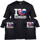 Kinder T-Shirt - I LOVE SLOWAKEI