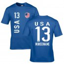 Kinder Fan-Shirt - USA -