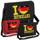 Messenger Bag - I LOVE DEUTSCHLAND -
