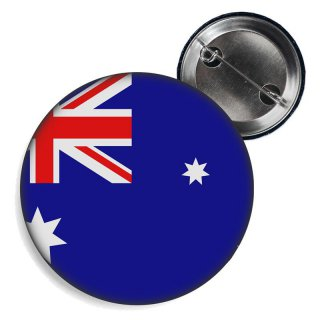 Button - AUSTRALIEN - Fahne