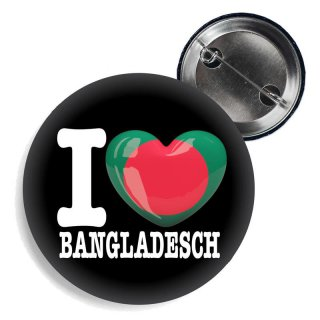 Button - I LOVE BANGLADESCH -