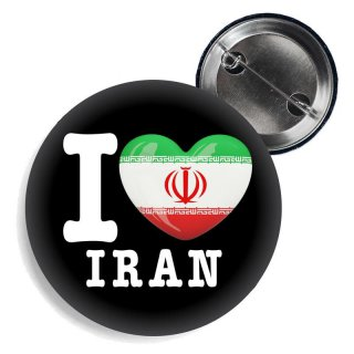Button - I LOVE IRAN -