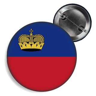 Button - LIECHTENSTEIN - Fahne