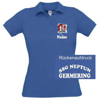 Damen Polo-Shirt SSG Neptun Germering