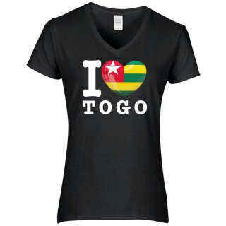 Damen T-Shirt - I LOVE TOGO