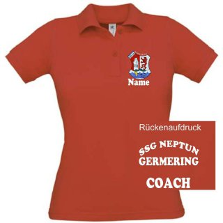 Damen Trainer-Polo-Shirt SSG Neptun Germering