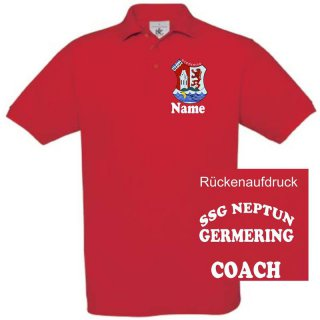 Herren Trainer-Polo-Shirt SSG Neptun Germering