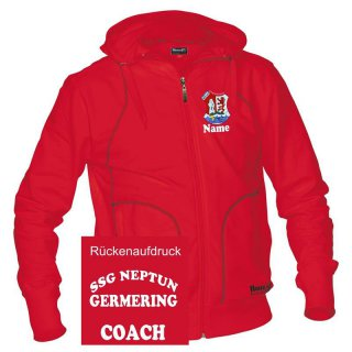 Herren Trainer-Sweat-Jacke SSG Neptun Germering
