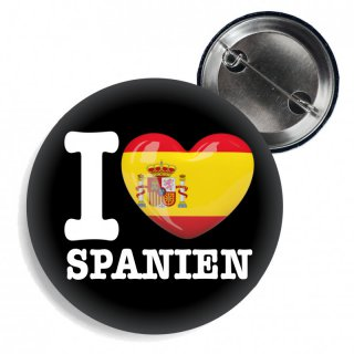 Button - I LOVE SPANIEN -