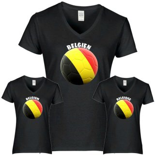 Damen T-Shirt - BALL BELGIEN -