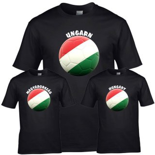 Kinder T-Shirt - BALL UNGARN -