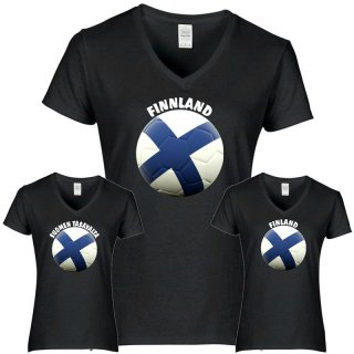 Damen T-Shirt - BALL FINNLAND -