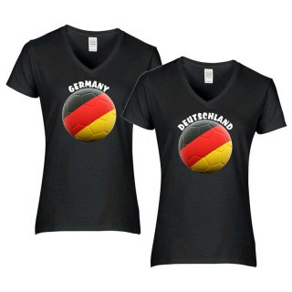 Damen T-Shirt - BALL DEUTSCHLAND -