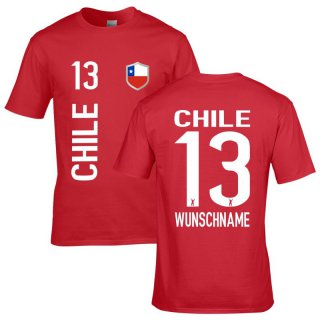 Herren Fan-Shirt - CHILE -