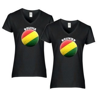 Damen T-Shirt - BALL BOLIVIEN -