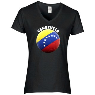 Damen T-Shirt - BALL VENEZUELA -