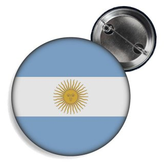 Button - ARGENTINIEN - Fahne