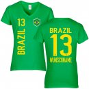 Damen Fan-Shirt - BRAZIL -