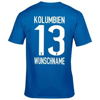 Herren Fan-Shirt - KOLUMBIEN -
