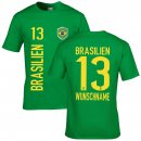 Kinder Fan-Shirt - BRASILIEN -
