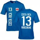 Herren Fan-Shirt - COSTA RICA -