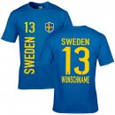 Herren Fan-Shirt - SWEDEN -