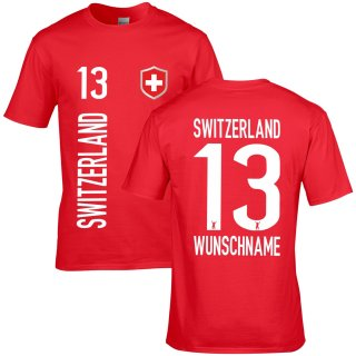 Kinder Fan-Shirt - SWITZERLAND -