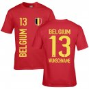 Kinder Fan-Shirt - BELGIUM -